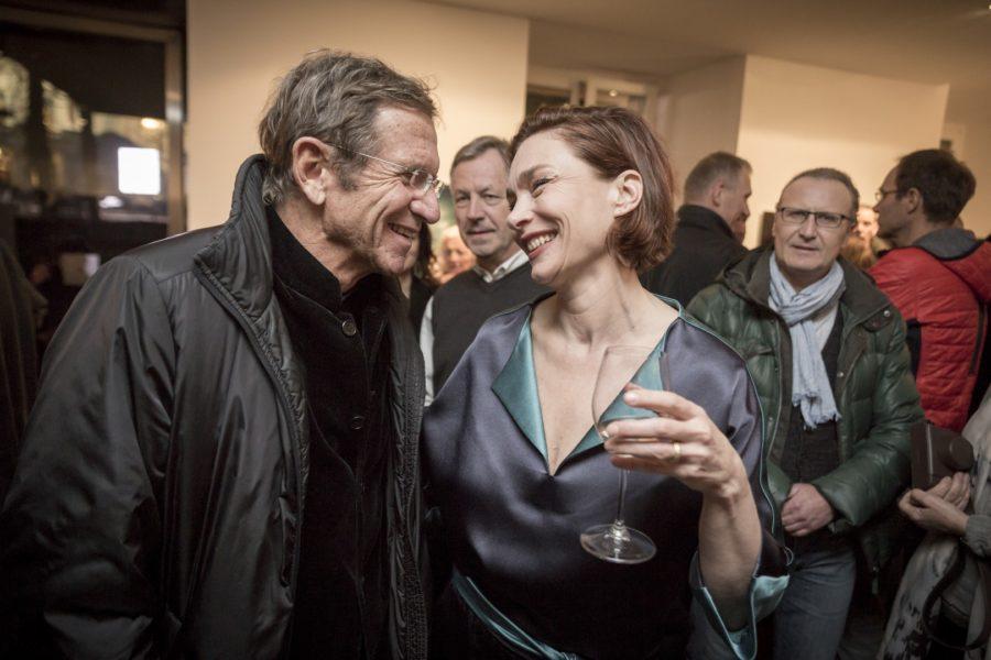 Der Grazer Juwelier Hans Schullin ist auch ein langjähriger Freund der Schauspielerin Aglaia Szyszkowitz (Foto www.BIGSHOT.at / Nikola Milatovic)