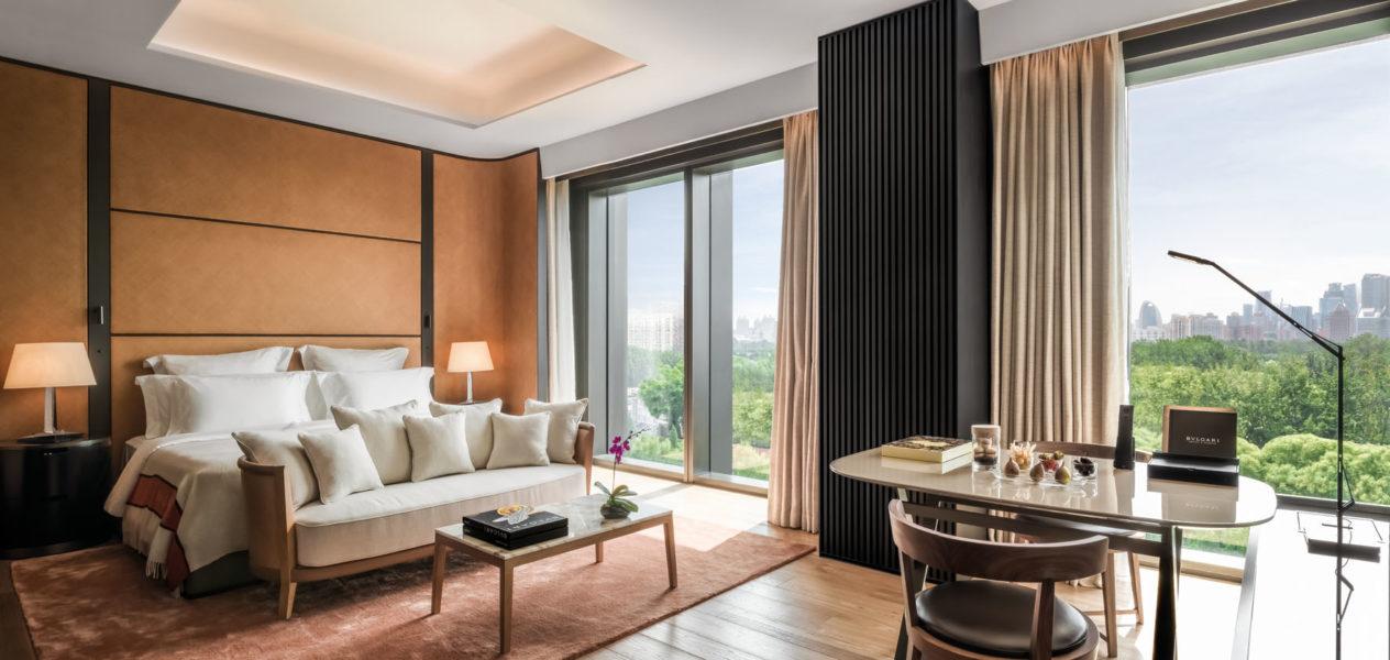 Das neue BVLGARI Hotel Beijing liegt im Botschaftsviertel von Peking (Foto BVLGARI)