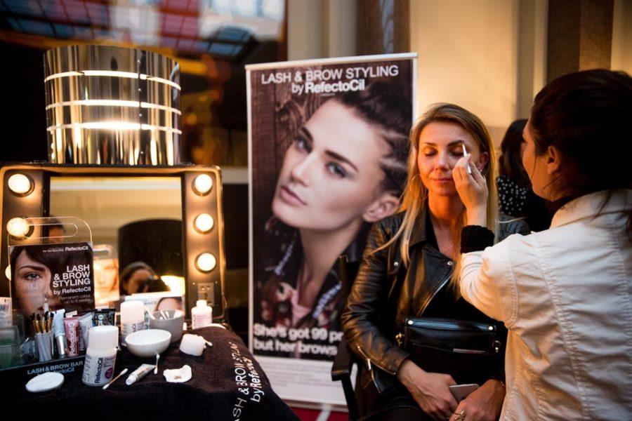 SPREAD Pop Up Showroom während der MBFW Berlin im Hotel de Rome: REFECTOCIL (Foto SPREAD)