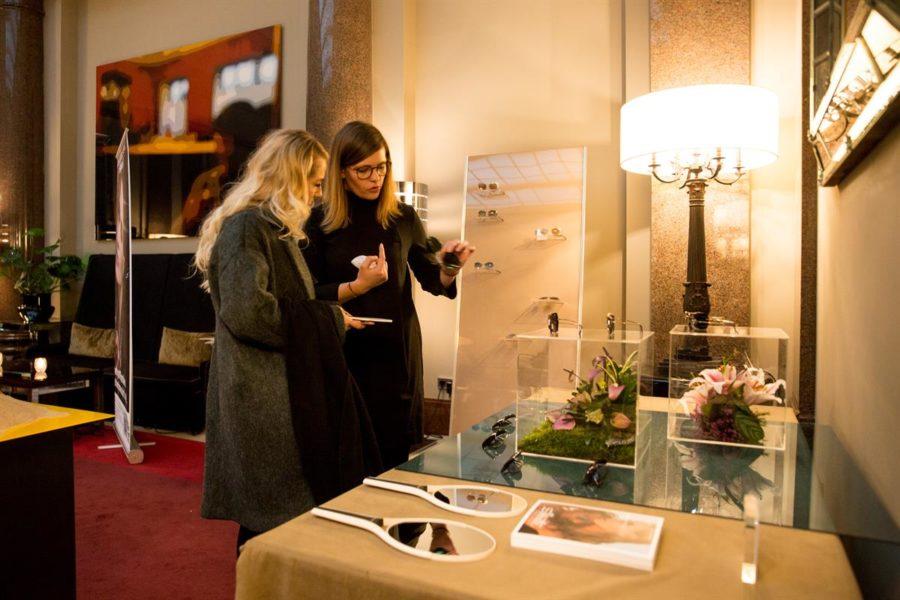 SPREAD Pop Up Showroom während der MBFW Berlin im Hotel de Rome: SILHOUETTE (Foto SPREAD)