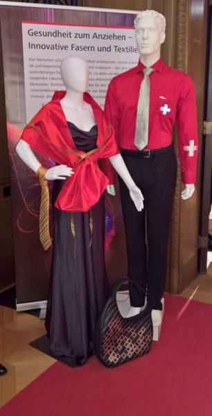Die Swiss Fashion Night 2018 fand in densehr schönen Räumlichkeiten der Schweizerischen Botschaft in Berlin statt (Foto Hedi Grager)