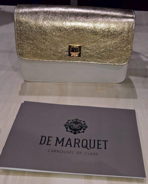 Das Schweizer Taschenlabel DE MARQUET präsentierte seine Taschen während der Swiss Fashion Night (Foto Hedi Grager)