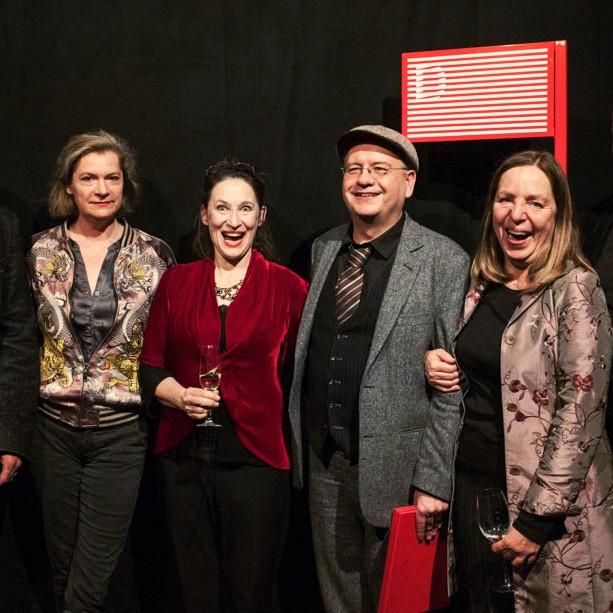 """""""Bester Spielfilm"""" Preis ging an Christian Frosch für Murer – Anatomie eines Prozesses (Foto Diagonale Miriam Raneburger)"""