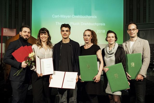 Die Gewinner der DIAGONALE Drehbuch-Preise (Foto Diagonale Miriam Raneburger)
