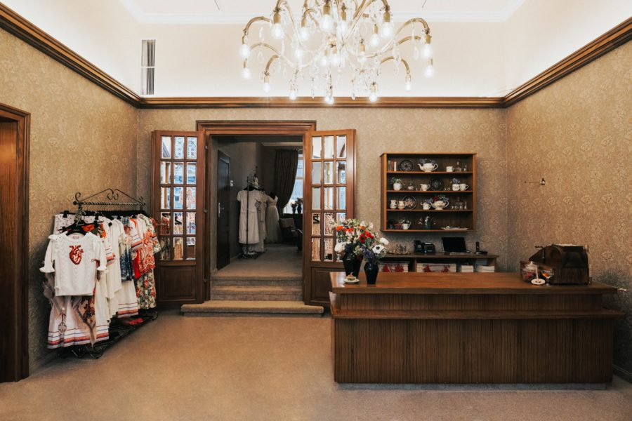 Die erfolgreiche steirische Designerin Lena Hoschek vergrößerte ihr Geschäft in Graz (Foto LUPI SPUMA)