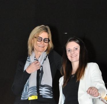 """Im Rahmen der Reihe """"Frauen und Technik"""" in Kooperation mit der Industriellenvereinigung Steiermark sprach die Journalistin Hedi Grager mit XAL Junior-Managerin Sabrina Ritz (Foto Reinhard Sudy)"""