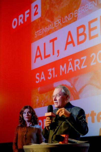 """ORF-Fernsehfilmchef Heinrich Mis bei der Präsentation von """"Polt"""" (Foto ORF / Günther Pichlkostner)"""