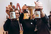 Viel Spaß hatten alle bei der Eröffnung der Agentur SPREAD im 1. Wiener Bezirk (Foto Philipp Lipiarski)
