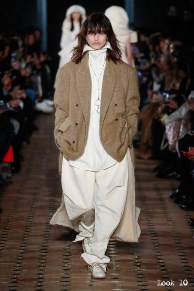 Designerin Uma Wang präsentierte ihre Mode auf der Pariser Fashion Week (Foto Uma Wang)