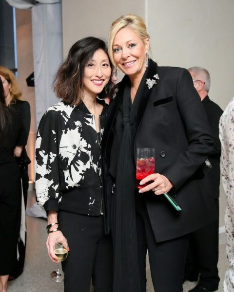Adelina Wong Ettelson mit Nadja Swarovski (Foto Angela Pham/BFA.com)