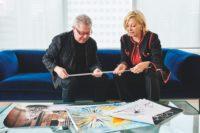 Daniel Libeskind und Nadja Swarovski (Foto by Bryan Derballa)