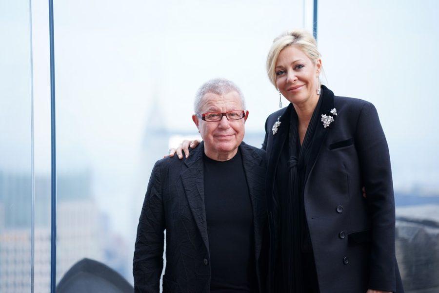 """Nadja Swarovski: """"Wir sind sehr geehrt, mit Daniel Libeskind, einem der größten Kreativtalente der Welt, am spannenden Neudesign des Swarovski Sterns für den Weihnachtsbaum am Rockefeller Center zusammenarbeiten zu können (Foto Angela Pham/BFA.com)"""
