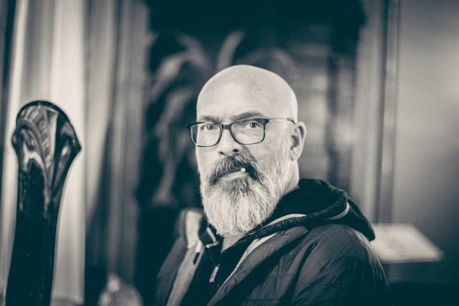 Klaus Koiner macht es Spaß, als Location & Modelscout mit Mathias zu arbeiten (Foto Mateo Moem)