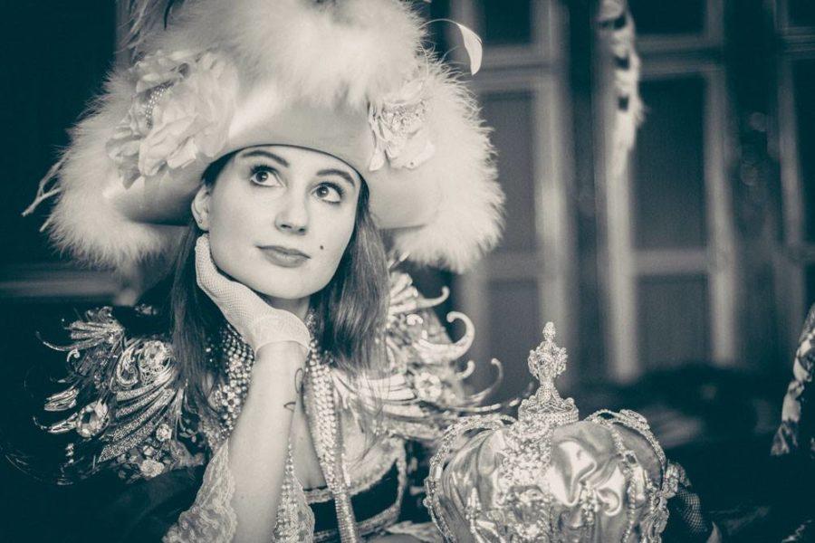 Lauren Klocker war nicht nur für das 'behind the scenes-Video' zuständig, sie fungierte auch als Model (Foto Mateo Moem)