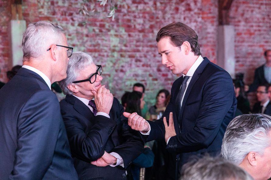 Auch Bundeskanzler Sebastian Kurz unterstrich das innovative Umfeld der steirischen Wissenschafts- und Wirtschaftslandschaft (Foto Jürgen Fuchs)