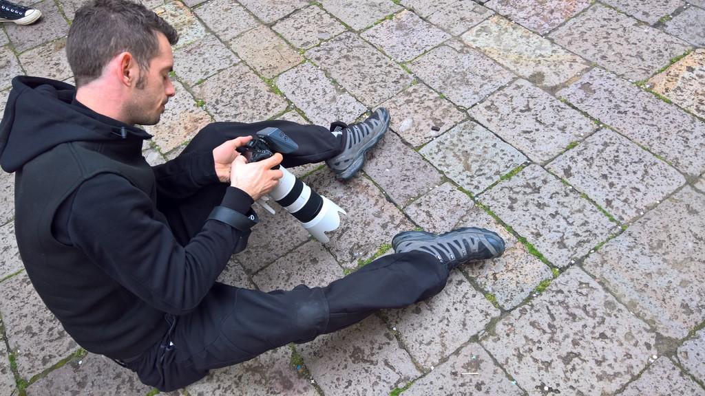 Mathias Kniepeiss war erstmals mit der neuen Sony Alpha 7R III unterwegs (Foto Hedi Grager)