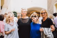 Sommer-Cocktail ardea luh: Irena Zmugg, Elke Steffen-Kuehnl, Babsi Schneider und Hedi Grager (Foto Stella Kager)