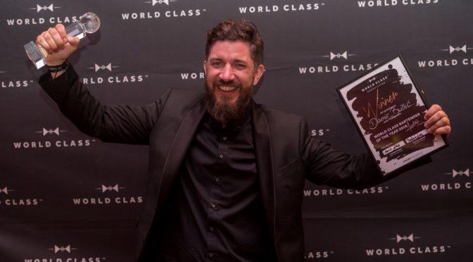 DamirBušić ist der WORLD CLASS Bartender Austria 2018