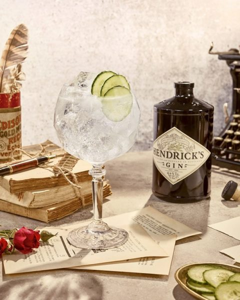 Hendrick's G&T Balloon Glass_Bottle (Alle Fotos Hendrick's Gin)