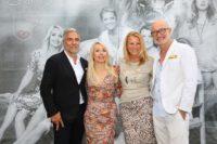 Christian Pöttler, Uschi Fellner, Doris und Gabor Rose (Foto Ludwig Schedl/look!)