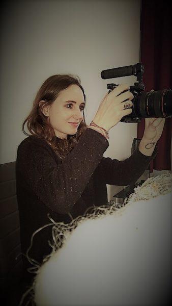 Ein Traum von Lauren Klocker wäre es, für einen Film von Tim Burton, Darren Aronofsky oder Wes Anderson als Kamerafrau zu agieren (Foto Hedi Grager)