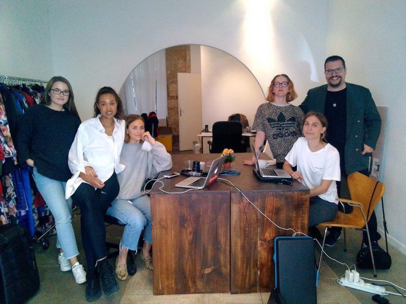 Das Styling-Team von Aeryne Fashion Paris & Dominik Wachta (Foto privat)