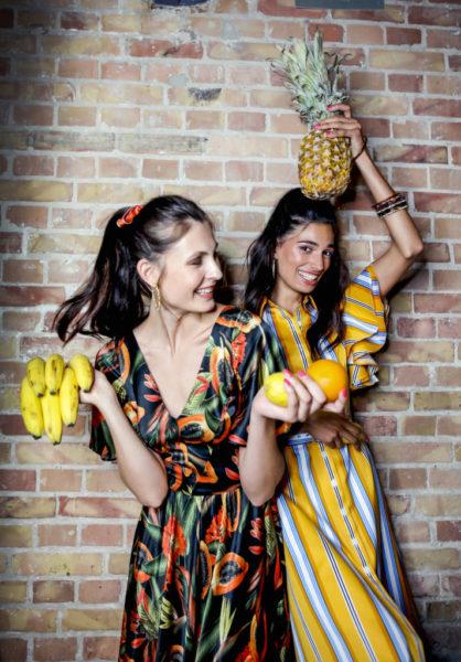 Lena Hoschek Show - Models backstage (Foto Getty Images for Lena Hoschek)
