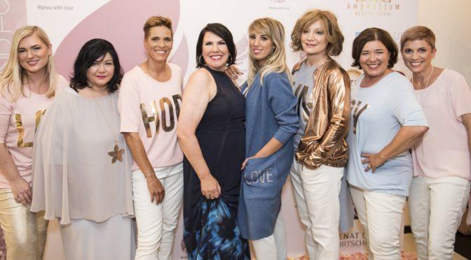 Manou Lenz zelebrierte ihr 10jähriges Fashion Jubiläum