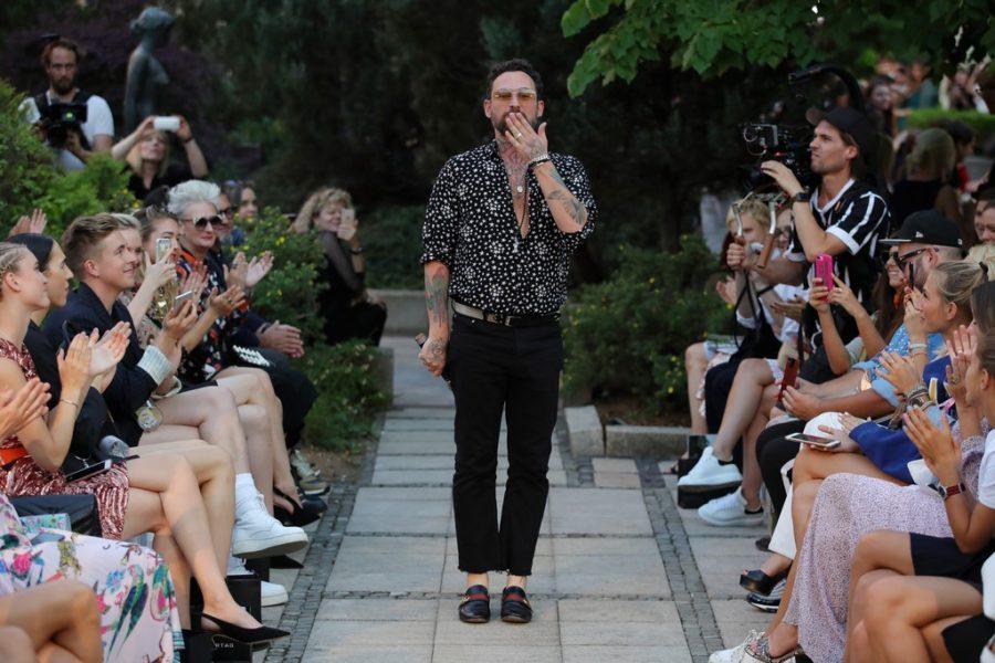 Fashion Designer Marcel Ostertag präsentierte zum ersten Mal seit zwölf Jahren eine Kollektion für Männer - und das aufgrund der hohen Nachfrage (Photo by Andreas Rentz/Getty Images for Marcel Ostertag)