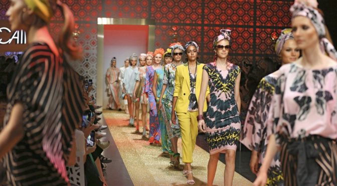 "Fashion Week Berlin: ""Le Riad Marc Cain"""