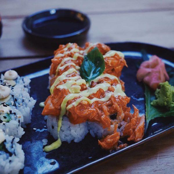 Miss Cho Spicy Salmon (Foto Miss Cho)
