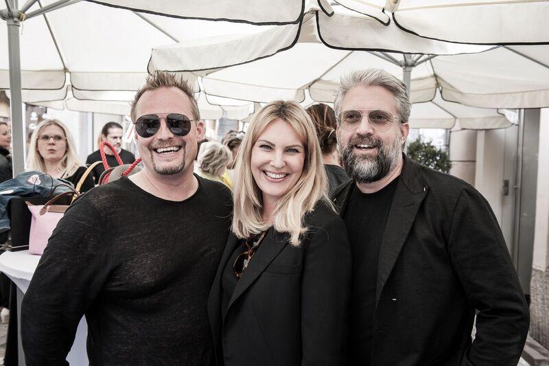 Das Andy Wolf Geschäftsführertrio Horst Purgstaller, Katharina Schlager und Andreas Birkheim (Foto Philipp Podesser)