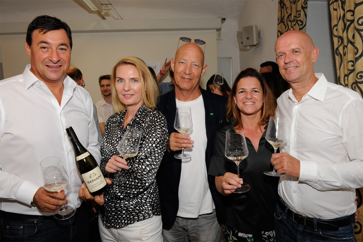 Sausal Revolution 18: Walter Schiefer, Claudia und Hannes Rossbacher, Sabine & Robert Flieser (Foto Weinbauverein Sausal)