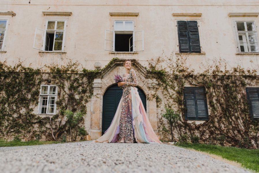 Am 22. und 23. September findet die HartbergerLand Hochzeitsmesse statt. Die großartige Eröffnungs-Show macht Designerin Eva Poleschinski (Foto PhotoMelanie)