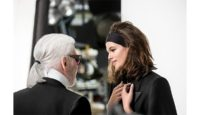 """Für die Herbst/Winter-Kampagne hat sich Karl Lagerfeld den """"Rising Star"""" am Modehimmel, Kaia Gerber, vor die Linse (Foto Lagerfeld)"""