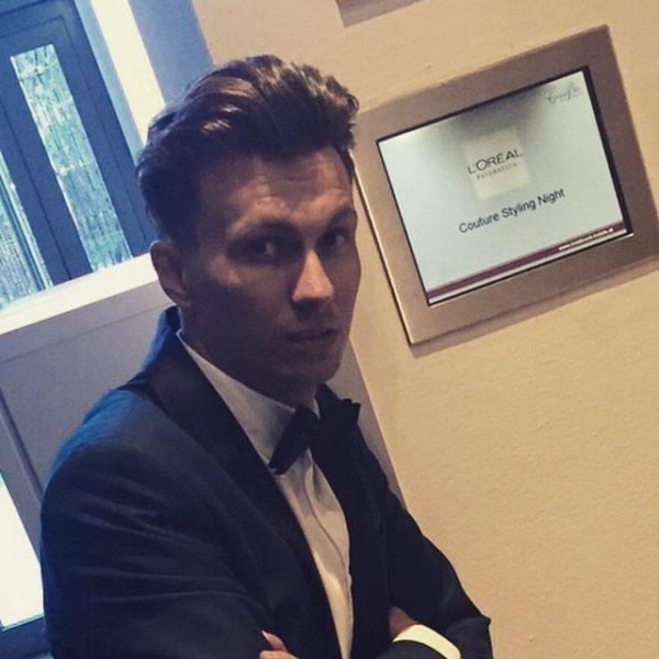 """""""Ich arbeite für L'Oreal als Education Artist und Kérastase K-Stylist und ich bin verantwortlich für die Kérastase Styling Couture-Serie,"""" erklärt Stefan Taucher (Foto NobleStyle)"""