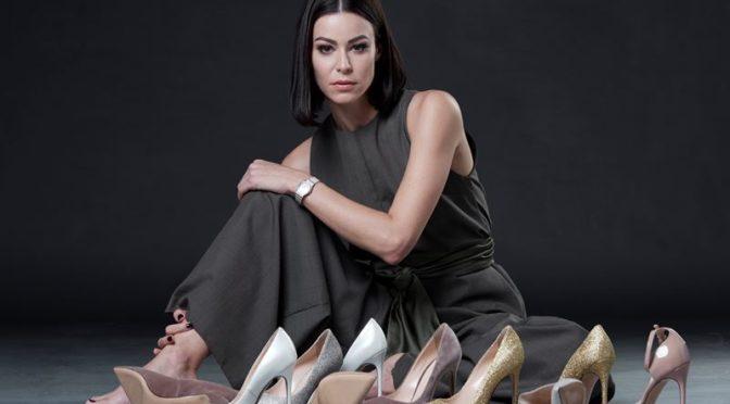 """Topmodel Kerstin Lechner wurde Schuhdesignerin und Markenbotschafterin für """"SoftHeels"""""""