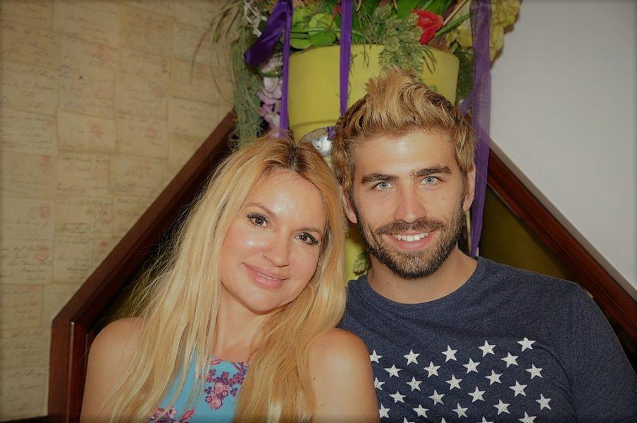 Swen Temmel mit seiner Freundin, der Schauspielerin, Drehbuchautorin und Producerin Meadow Williams (Foto Reinhard Sudy)