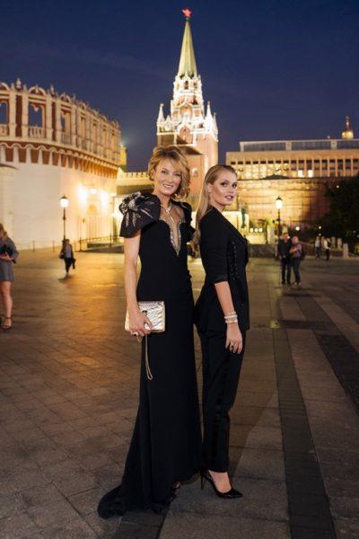 Der Einladung von Bvlgari und dem Moskauer Kreml-Museum folgten auch Prinzessin Lilly Zu Sayn Wittgenstein und Lady Kitty Spencer (Foto Bvlgari)