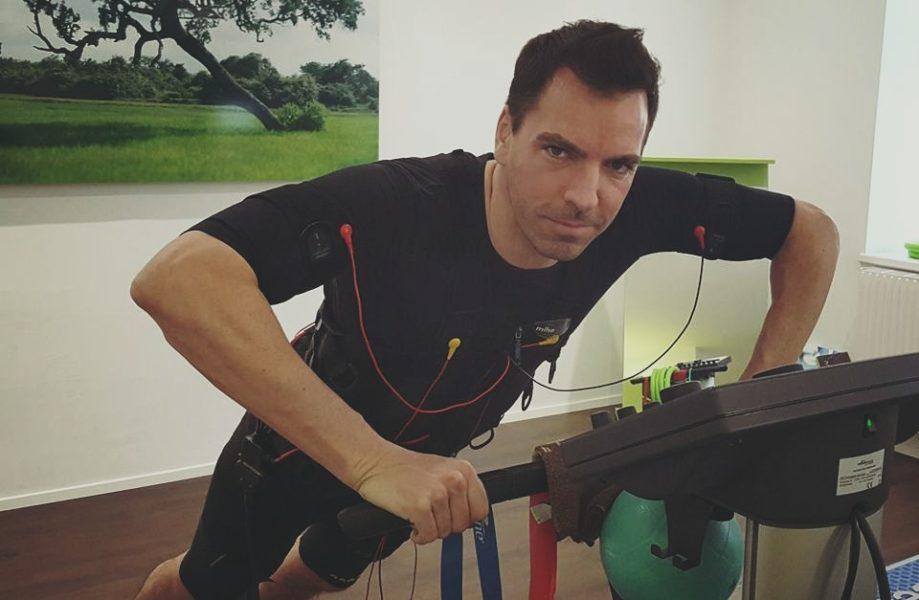 Um sich fit zu halten, macht der erfolgreiche Unternehmer Kari Ochsner viel Sport (Foto privat)
