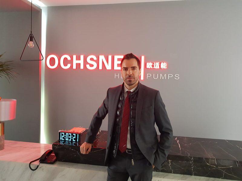 Der Geschäftsmann Kari Ochsner ist mit seinen Wärmepumpen, einem österreichischen Spitzenprodukt, international erfolgreich (Foto privat)