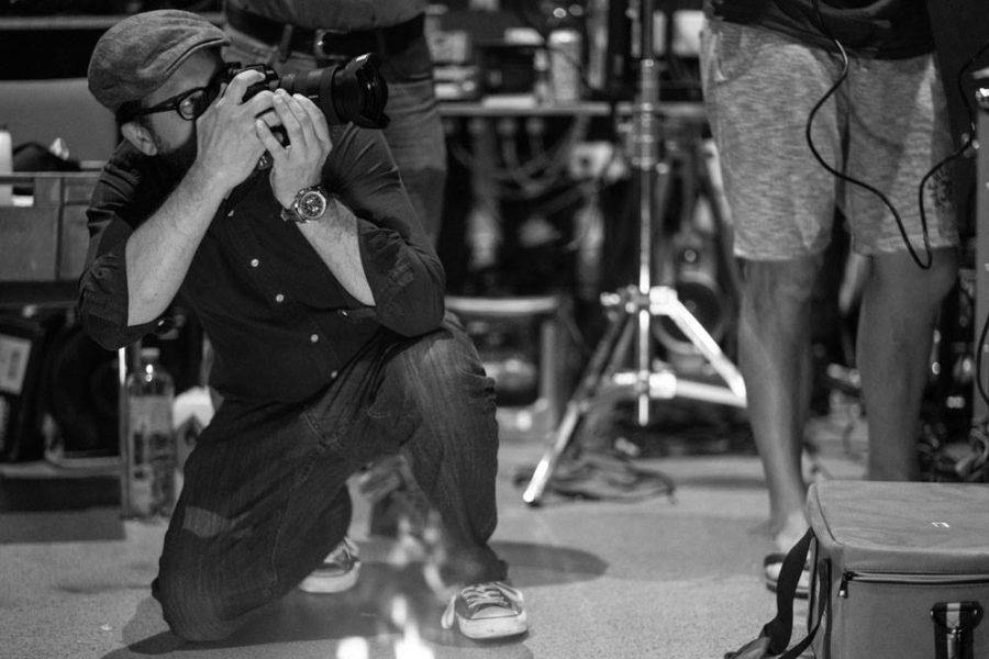 """Pascal Richards, Sony: Umgeben von professionellen Pyrotechnikern und Stunt-Männern und -Frauen durften wir einen unvergesslichen Workshop erleben."""" (Foto Philipp Schulz)"""