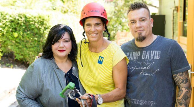Profilerin Patricia Staniek lud zum Dschungelfeeling
