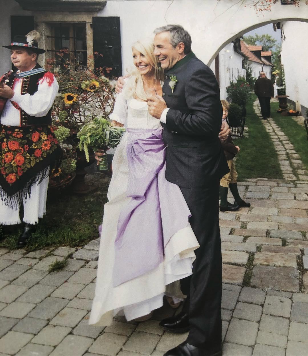 Seit 2013 ist Uschi Fellner glücklich mit Echo-Boss Christian Pöttler verheiratet (Foto privat)