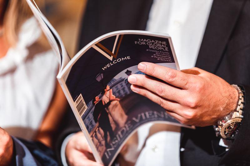 """""""Very Vienna Welcome"""" ist das neueste Magazin-Projekt von Uschi Fellner speziell für Expats (Foto beigestellt)"""