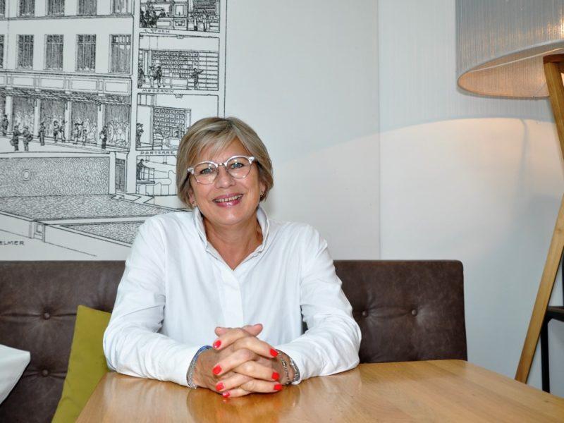 Die Schwedin Camilla Torpe ist verantwortlichfür das zukunftsträchtige Projekt LEGO® Build the Change, das sich an Kinder richtet. (Foto Reinhard A. Sudy)