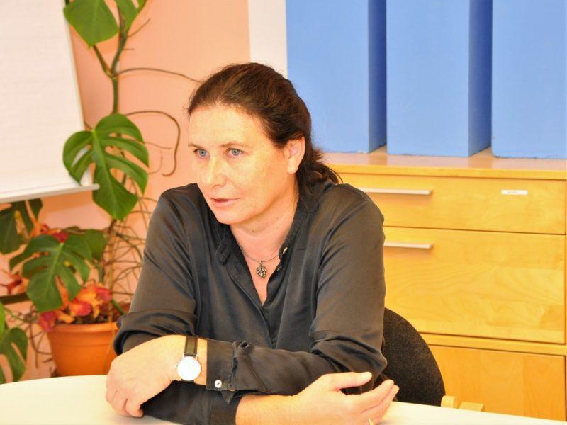Eva Wolf-Haslauer ist Geschäftsführerin der steirischen w&p Kalk GmbH in Peggau (Foto Reinhard A. Sudy)