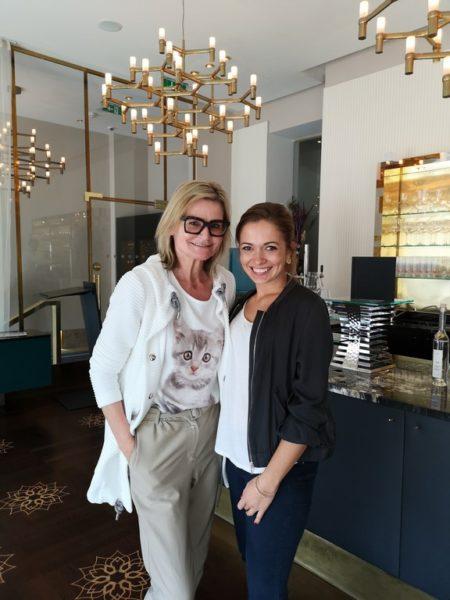 Ich traf die Sschauspielerin Mathilde Graf im Wiener Hotel Sans Souci zu einem interessanten Gespräch über ihre Rolle in CopStories und auch Privates (Foto privat)