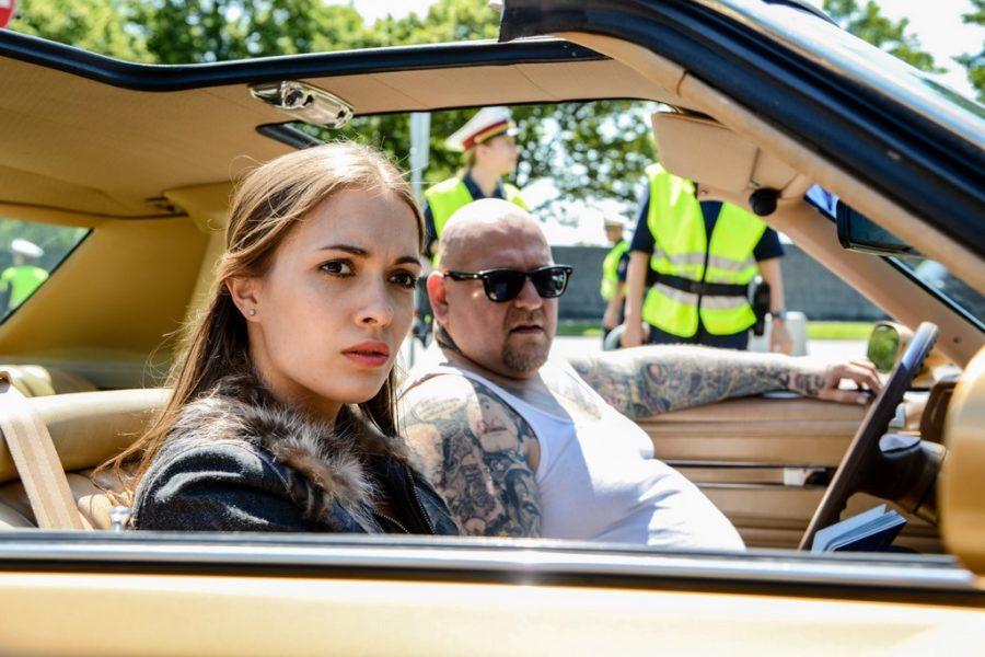 """Für ihre Rolle in CopStories hat sich Mathilde Graf gut vorbereitet. """"Ich habe viel recherchiert. Iveta, die Rolle die ich spiele, kommt aus Moldavien, ist mit Schleppern nach Österreich gekommen und hat viel Schlimmes erlebt. (Foto ORF Hubert Mican)"""