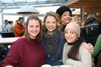 VIP-Ski-Opening am Stuhleck: Isabel Meili, Sigrid Spörk, Gudrun Nikodem-Eichenhardt, Caroline Athanasiadis (Foto Conny de Beauclair)